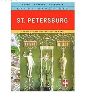 Beautiful Map Guide to St. Petersburg Book